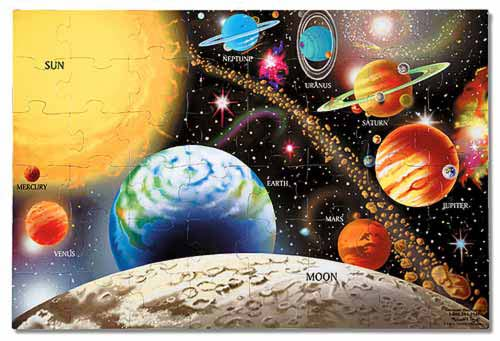 Melissa and Doug Solar System Floor Puzzle - All-Star Learning Inc. - Proudly Canadian