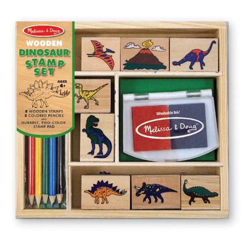 Melissa and Doug Dinosaur Stamp Set - All-Star Learning Inc. - Proudly Canadian