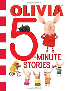 Olivia 5-Minute Stories (Olivia TV Tie-in) Hardcover – April 24, 2018 - All-Star Learning Inc. - Proudly Canadian