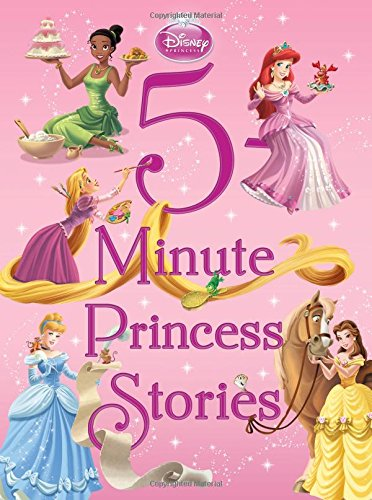 DIsney 5-Minute Princess Stories - All-Star Learning Inc. - Proudly Canadian