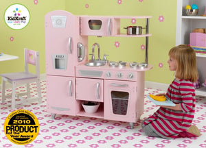 KidKraft Pink Vintage Kitchen - All-Star Learning Inc. - Proudly Canadian