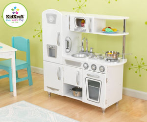 KidKraft White Vintage Kitchen - All-Star Learning Inc. - Proudly Canadian