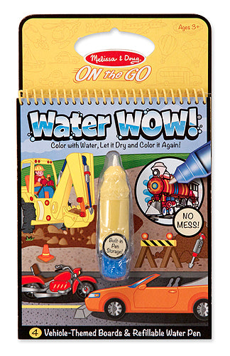 Melissa and Doug Water WOW! Book - Vehicles - All-Star Learning Inc. - Proudly Canadian