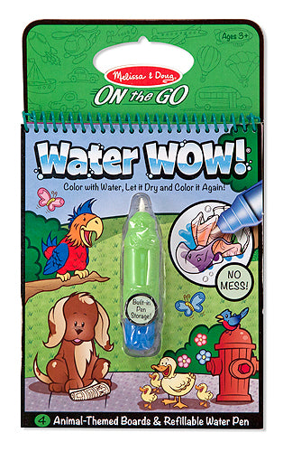 Melissa and Doug Water WOW! Book - Animals - All-Star Learning Inc. - Proudly Canadian