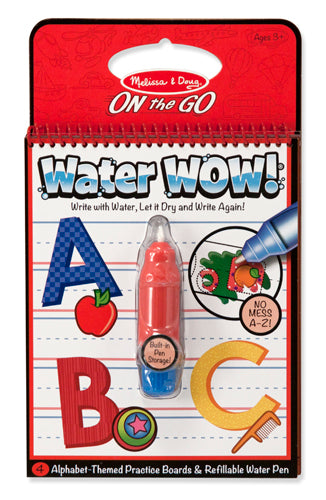 Melissa and Doug Water WOW! Book - Alphabet - All-Star Learning Inc. - Proudly Canadian