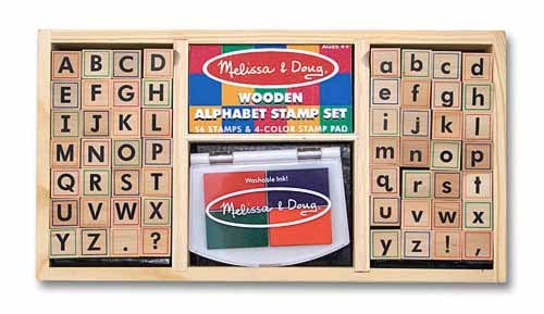 Melissa and Doug Alphabet Stamp Set - All-Star Learning Inc. - Proudly Canadian