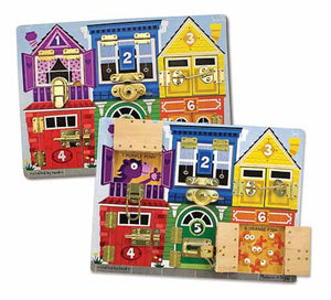Melissa and Doug Latches Board - All-Star Learning Inc. - Proudly Canadian