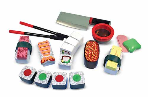 Melissa and Doug Sushi Slicing Play Set - All-Star Learning Inc. - Proudly Canadian