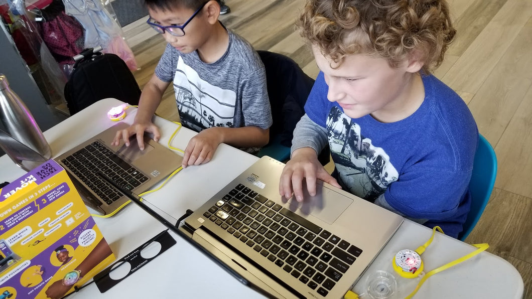 STEM Class - Coding 101 (7+ Years Old)