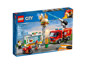 LEGO Burger Bar Fire Rescue - All-Star Learning Inc. - Proudly Canadian