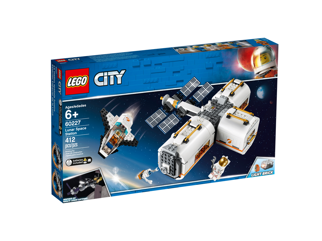 LEGO Lunar Space Station - All-Star Learning Inc. - Proudly Canadian