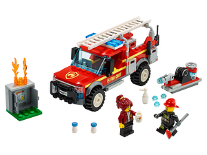 LEGO Fire Chief Response Truck - All-Star Learning Inc. - Proudly Canadian