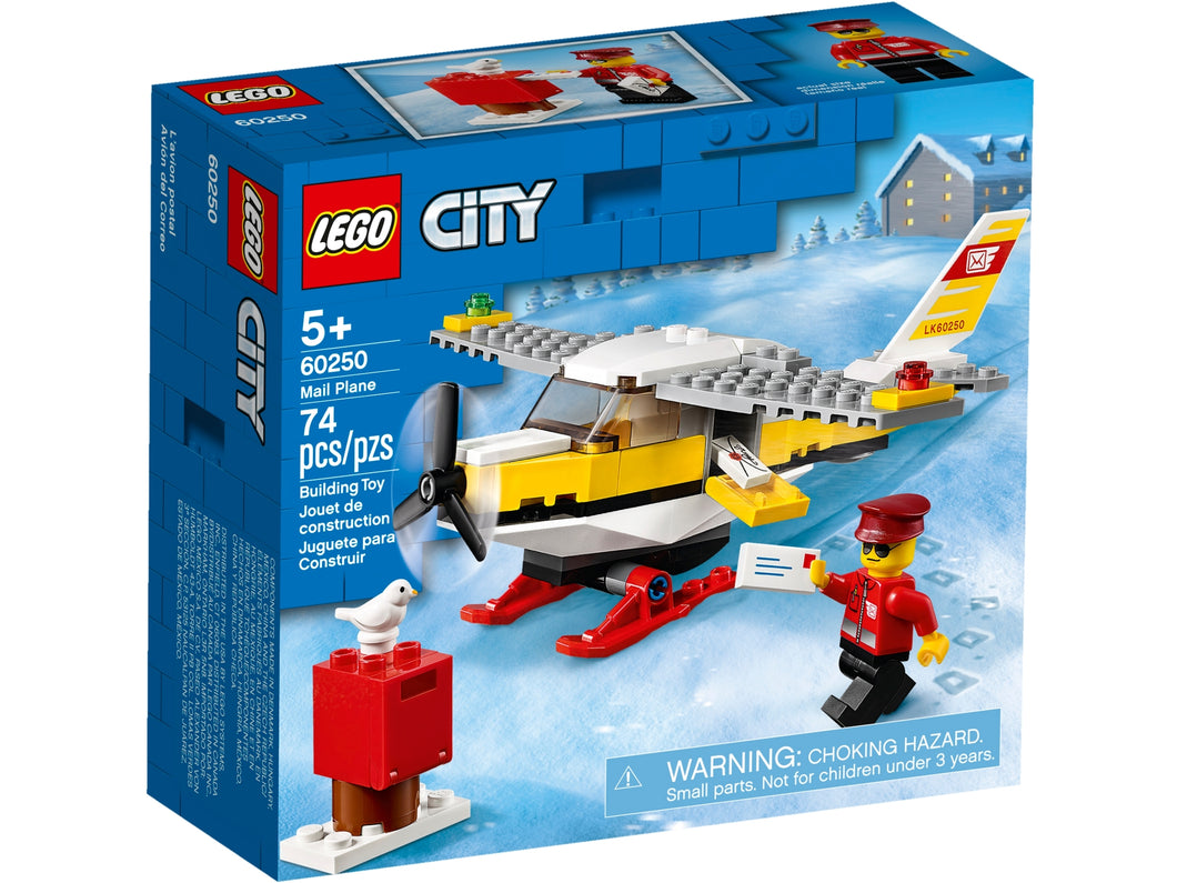 LEGO Mail Plane - All-Star Learning Inc. - Proudly Canadian