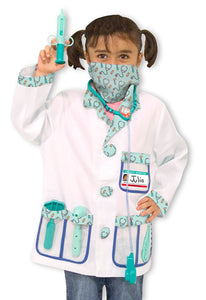 Melissa and Doug Doctor Role Play Costume Set - All-Star Learning Inc. - Proudly Canadian