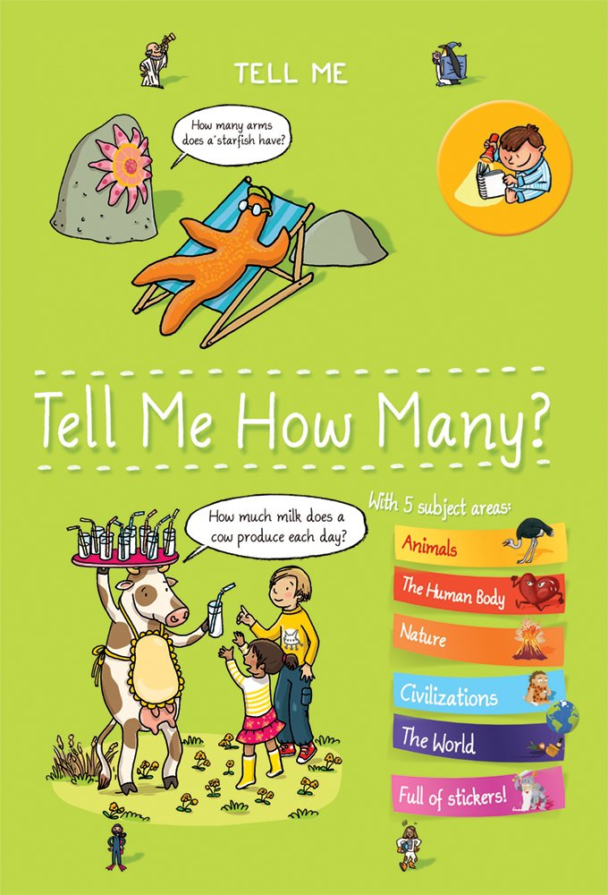 Tell Me How Many? (Tell Me Books) - All-Star Learning Inc. - Proudly Canadian