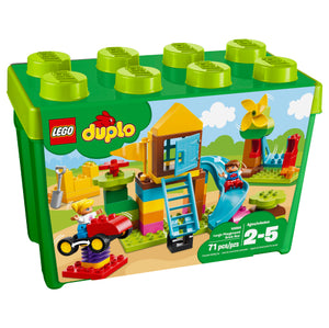 LEGO DUPLO Large Playground Brick Box - All-Star Learning Inc. - Proudly Canadian