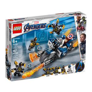 LEGO Captain America: Outriders Attack - All-Star Learning Inc. - Proudly Canadian