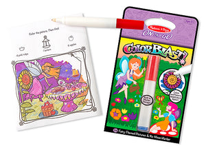 Melissa and Doug Fairies Colorblast Book - All-Star Learning Inc. - Proudly Canadian