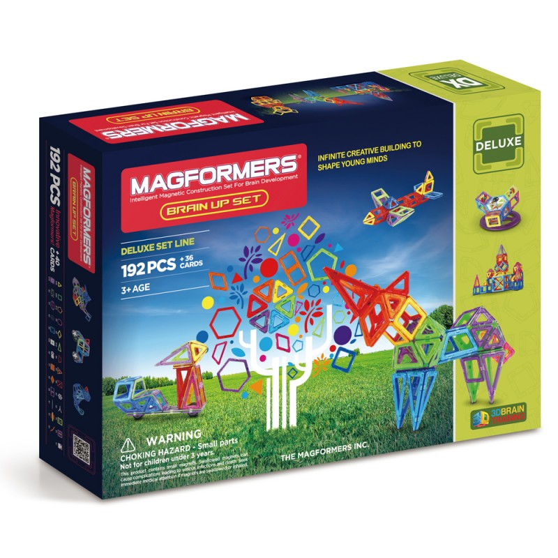 Magformers - 192 Piece Brain-Up Set - All-Star Learning Inc. - Proudly Canadian