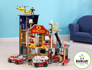 KidKraft Deluxe Fire Rescue Set - All-Star Learning Inc. - Proudly Canadian