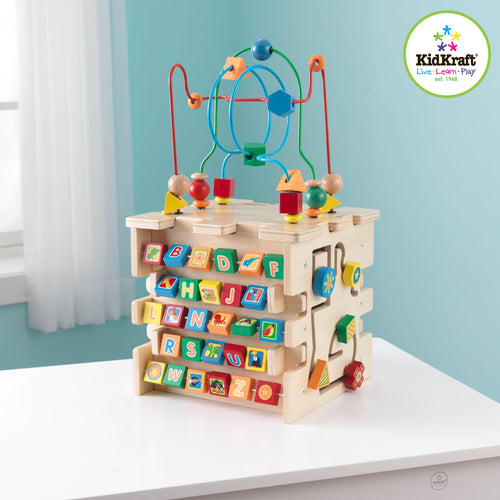KidKraft Deluxe Activity Cube - All-Star Learning Inc. - Proudly Canadian