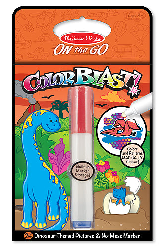 Melissa and Doug Dinosaurs Colorblast Book - All-Star Learning Inc. - Proudly Canadian
