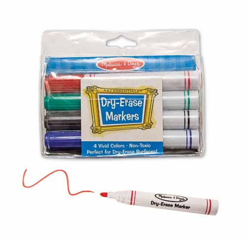Melissa and Doug Dry-Erase Marker Set - All-Star Learning Inc. - Proudly Canadian