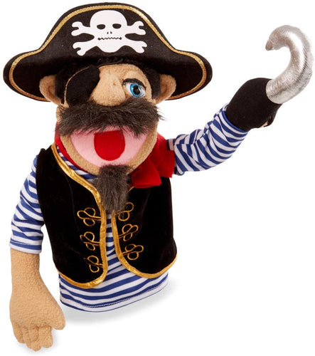 Melissa and Doug Pirate Puppet with Detachable Wooden Rod for Animated Gestures - All-Star Learning Inc. - Proudly Canadian