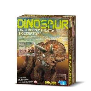 4M Dig a Dinosaur Triceratops - All-Star Learning Inc. - Proudly Canadian