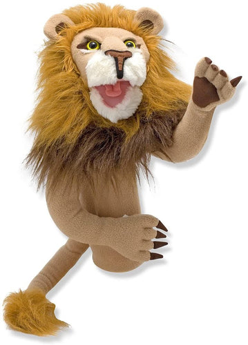 Melissa and Doug Rory The Lion Puppet with Detachable Wooden Rod - All-Star Learning Inc. - Proudly Canadian