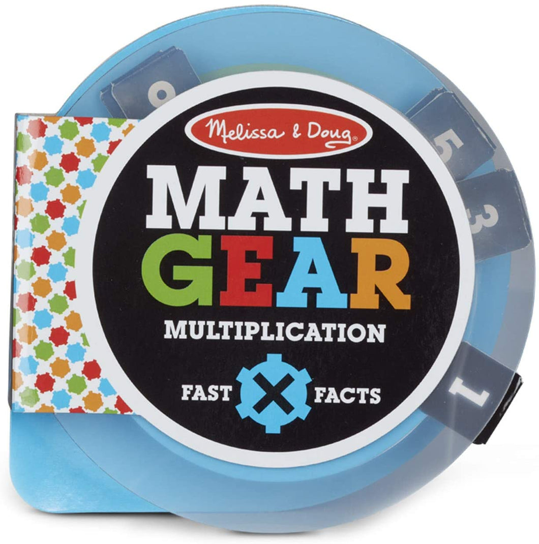 Melissa and Doug Math Gears Multiplication Game