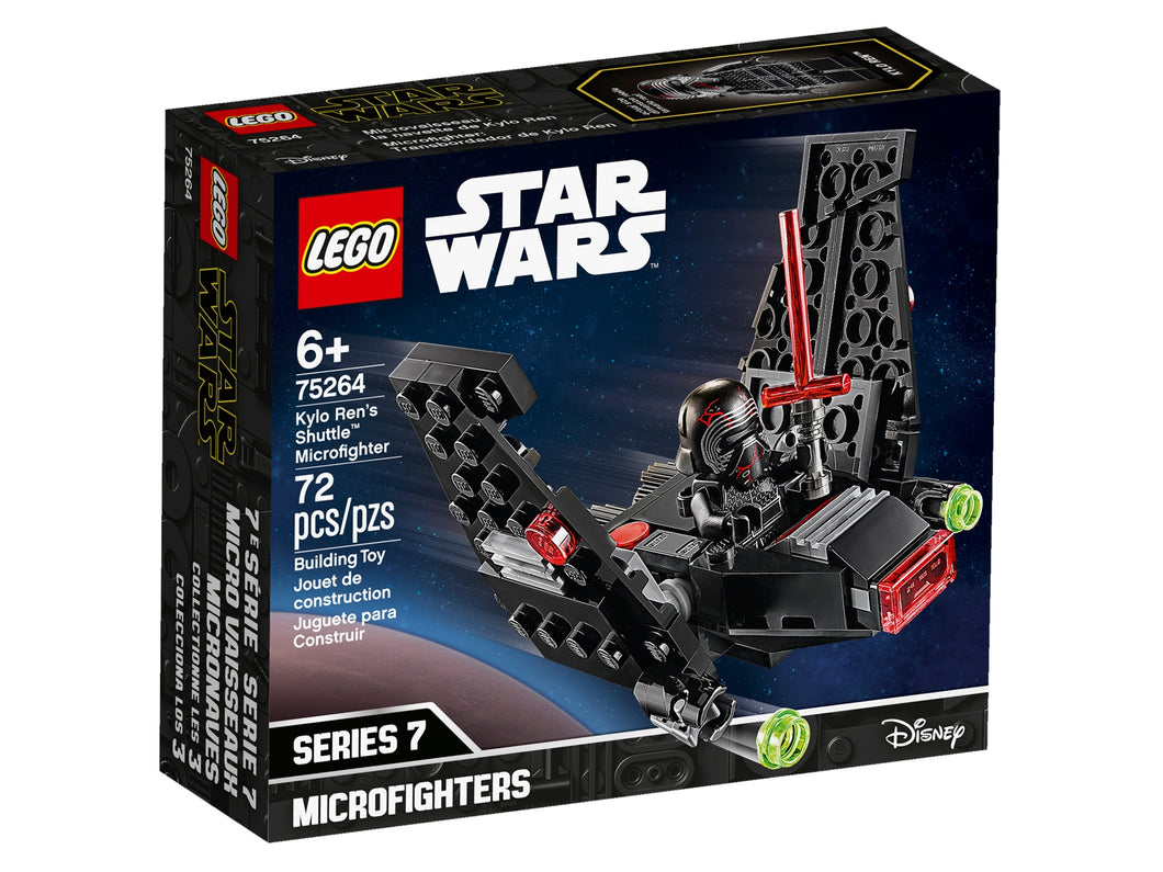 LEGO Kylo Ren's Shuttle™ Microfighter - All-Star Learning Inc. - Proudly Canadian