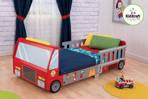 KidKraft Fire Truck Toddler Bed - All-Star Learning Inc. - Proudly Canadian