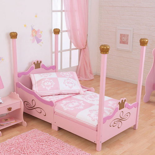 KidKraft Princess Toddler Bed - All-Star Learning Inc. - Proudly Canadian