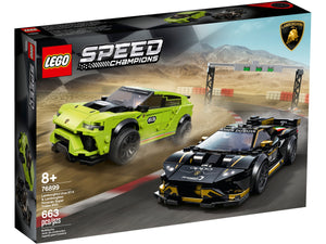 LEGO Lamborghini Urus ST-X & Lamborghini Huracán Super Trofeo EVO - All-Star Learning Inc. - Proudly Canadian