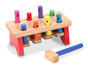 Melissa and Doug Deluxe Pounding Bench - All-Star Learning Inc. - Proudly Canadian