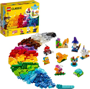 LEGO Classic Creative Transparent Bricks