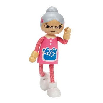 Hape Modern Family - Grandma - All-Star Learning Inc. - Proudly Canadian