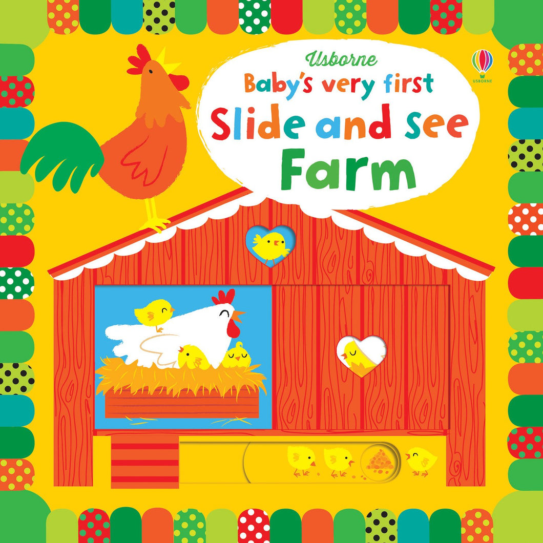 Baby's Very First Slide and See Farm - All-Star Learning Inc. - Proudly Canadian