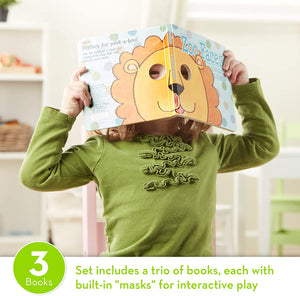 Melissa and Doug Fun Faces Mask Books 3-Pack - All-Star Learning Inc. - Proudly Canadian
