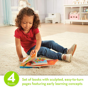 Melissa and Doug E-Z Page Turners Books 4-Pack - All-Star Learning Inc. - Proudly Canadian
