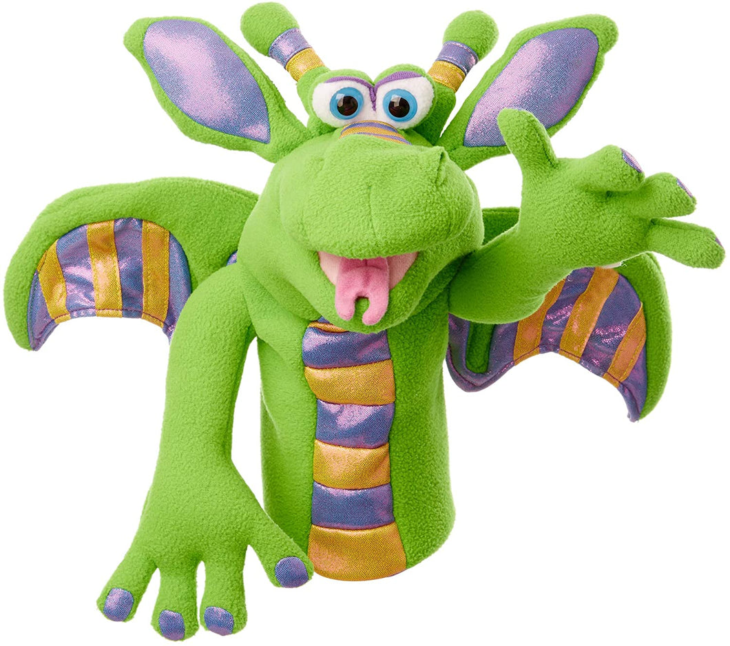 Melissa and Doug Melissa & Doug Dragon Puppet with Detachable Wooden Rod for Animated Gestures