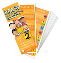 Brain Quest - Grade 2 Card Game - All-Star Learning Inc. - Proudly Canadian