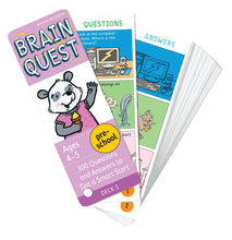 Brain Quest - Preschool Card Game - All-Star Learning Inc. - Proudly Canadian