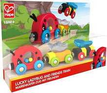 Hape Lucky Ladybug & Friends Train Set - All-Star Learning Inc. - Proudly Canadian