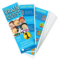 Brain Quest - Grade 1 Card Game - All-Star Learning Inc. - Proudly Canadian