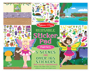 Melissa and Doug Fairies Reusable Sticker Pad - All-Star Learning Inc. - Proudly Canadian