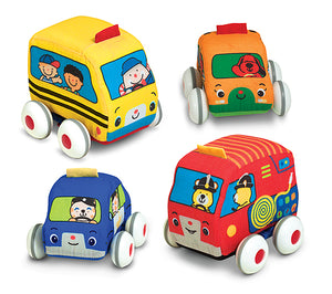 Melissa and Doug Pull Back Vehicles Baby and Toddler Toy - All-Star Learning Inc. - Proudly Canadian