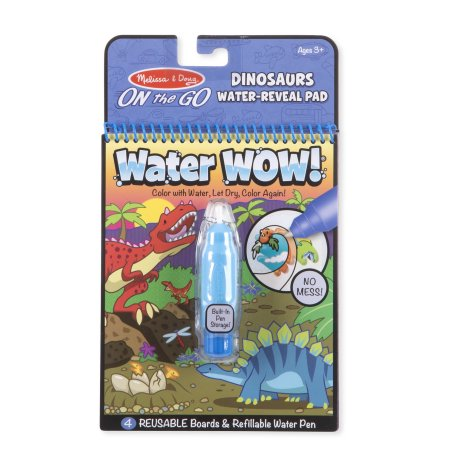 Melissa and Doug Water Wow - Dinosaurs Water-Reveal Pad - All-Star Learning Inc. - Proudly Canadian