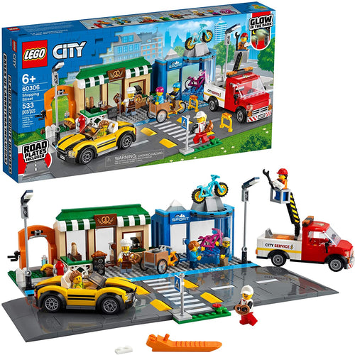 LEGO City Shopping Street